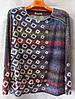 Блуза жіноча батальна (L-I-D-A)