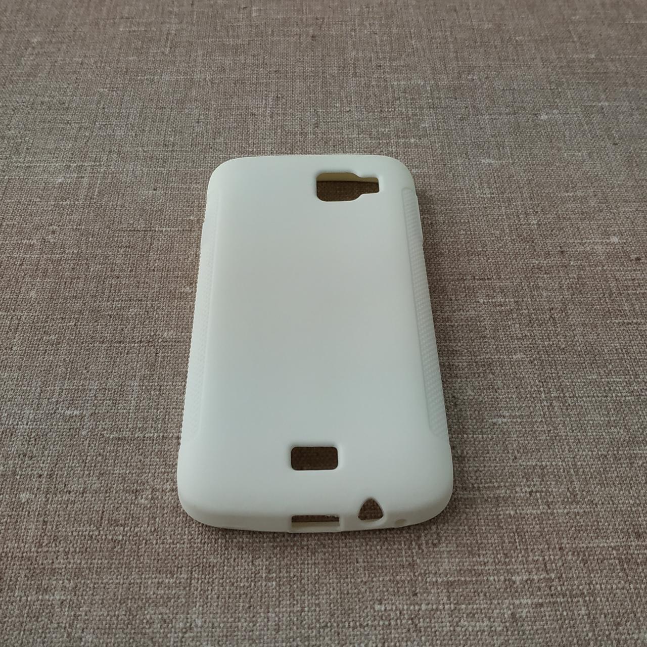 Чехлы для Fly TPU IQ4411 white Для телефона