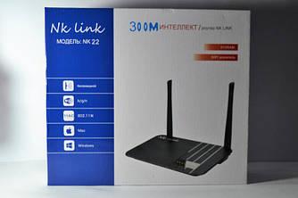 Роутер WI-FI Маршрутизатор Nk link 22