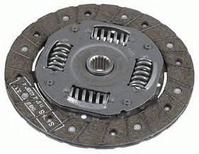Диск сцепления Ford Fiesta 2001- (1.25-1.4) 190х17 KEMP