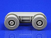 Комплект роликов с направляющей для посудомоечной машины Electrolux/AEG/Zanussi (1172389007)