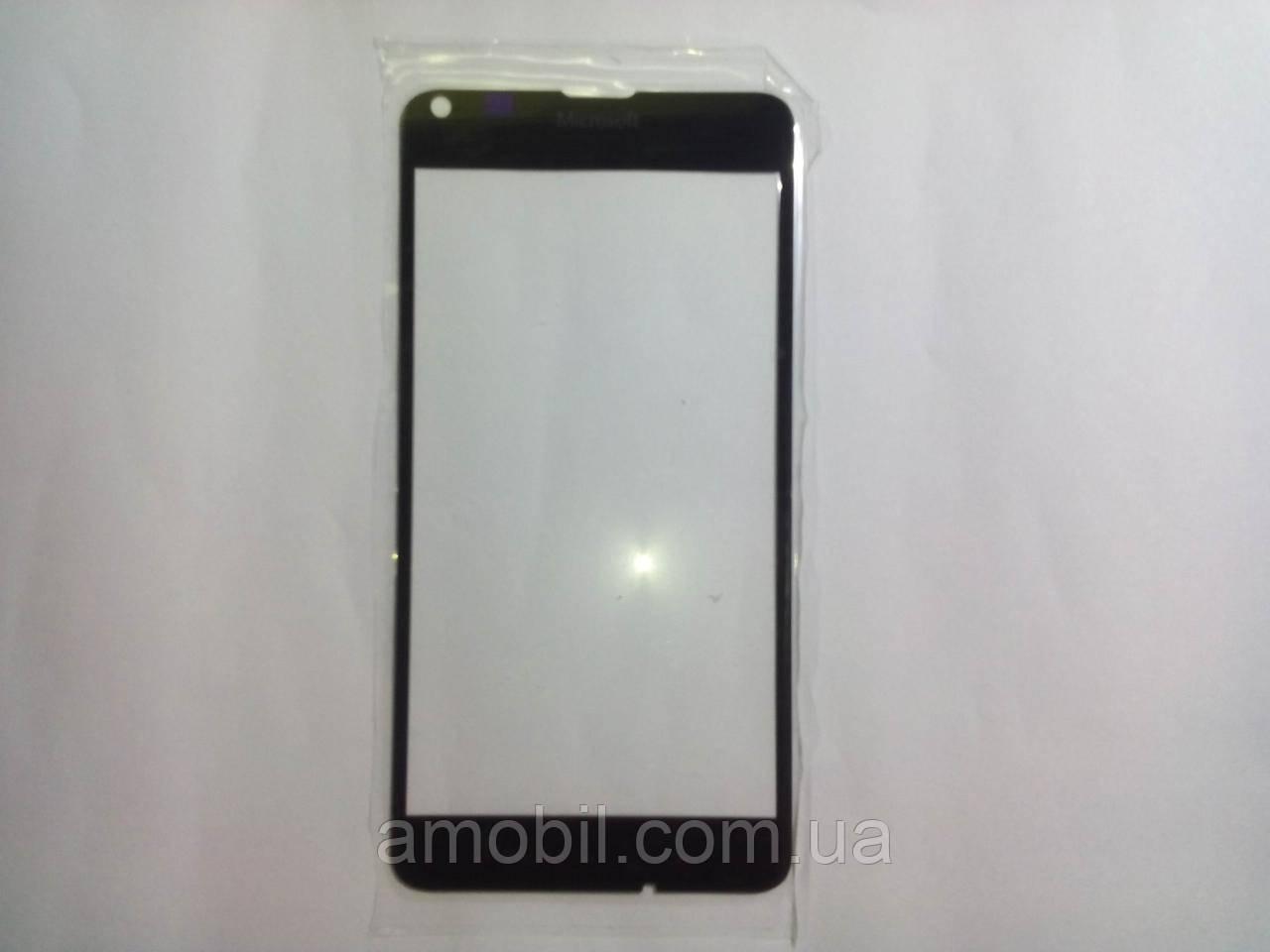 Стекло дисплея Nokia Lumia 640 black orig