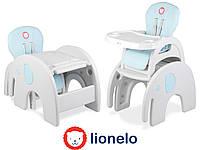 Детский стульчик для кормления с столом Lionelo Eli 5in1
