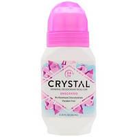 Натуральный шариковый дезодорант, без запаха (66 мл), Crystal Body Deodorant