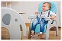 Детский стульчик для кормления с столом Lionelo Eli 5in1, фото 10