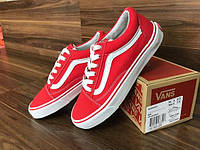 Vans Old Skool Red White (реплика) 36 размер