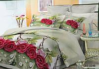 Комплект постельного белья 3246, микросатин (Полуторный)