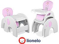 Детский стул для кормления Lionelo Eli 5in1 Pink