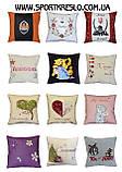 Сувенірна декоративна подушка - вишиванка Україна, фото 10