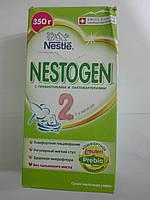 62 Сроки до07.12.19-4шт Примята упаковка Смесь Nestle Nestogen-2 (350 гр.), фото 1