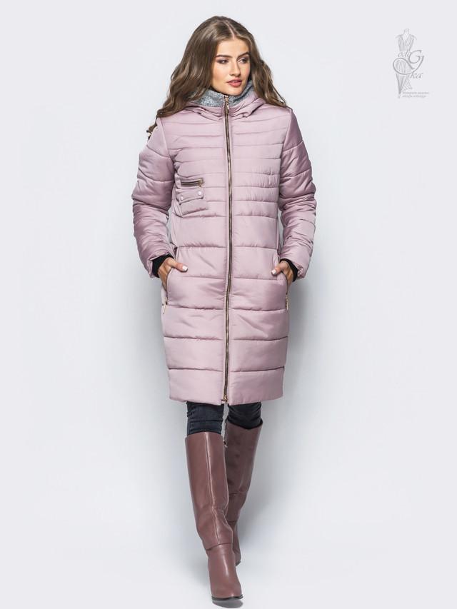 Фото Куртки зимней женской теплой Фрэнсис-1