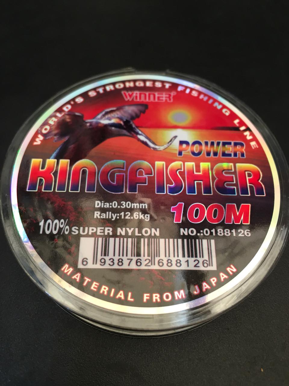 Леска Kingfisher 0.35 (100m.) радужная