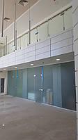 Стеклянные офисные перегородки с дверью, фото 1