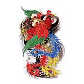 Временная татуировка - феникс