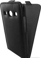 Чехол для телефона GlobalCase (Flip Down) Samsung G350 Star Advance (black) (1283126463679)