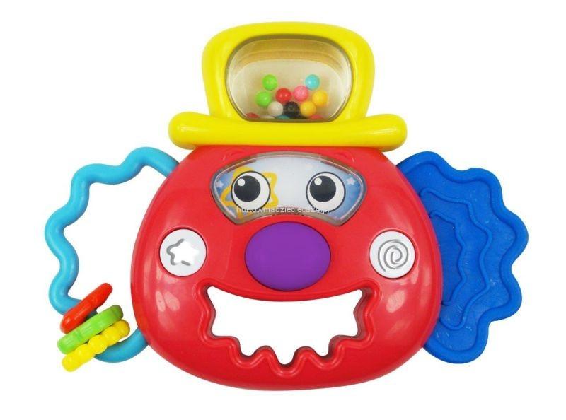 Погремушка  baby mix клоун 0883