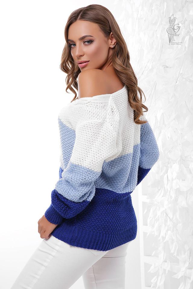 Фото-1 Вязаного женского свитера Рэйн