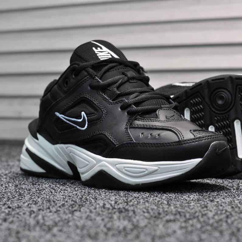Nike M2K Tekno Black White  (реплика)