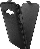 Чехол для телефона GlobalCase (Flip Down) Samsung J100 Duos (black)