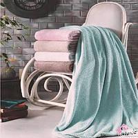Плед микрофибра Tivolyo Home Favo Розовый 200x220