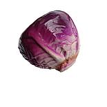 Искусственная капуста синяя, муляж капусты, фото 2