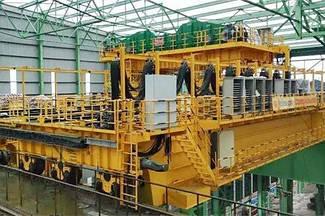 320т подвесной кран для литейного производства | Мостовой кран для литейного производства