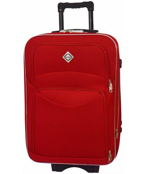 Дорожный чемодан на колесах Bonro Style Красный Небольшой