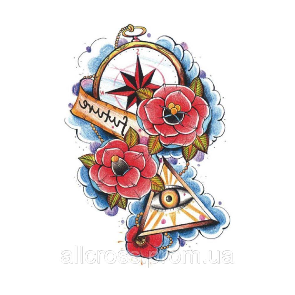 Временная татуировка - знаки