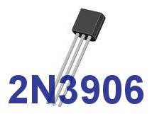 Транзистор 2N3906   PNP   корпус TO-92