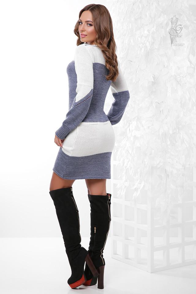 Фото-1 Вязаных платьев туник Колибри