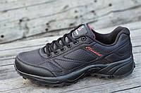 Мужские кроссовки в стиле   черные стильные водоотталкивающие удобные популярные (Код: 1234), фото 1