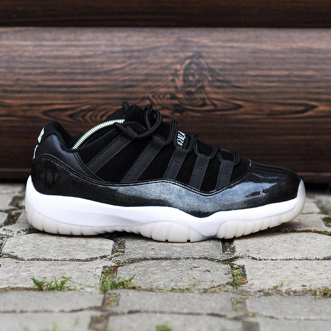 Мужские Кроссовки в стиле    Nike Air JORDAN 11 черные