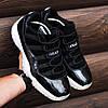 Мужские Кроссовки в стиле    Nike Air JORDAN 11 черные, фото 3