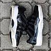 Мужские Кроссовки в стиле    Nike Air JORDAN 11 черные, фото 5