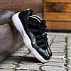 Мужские Кроссовки в стиле    Nike Air JORDAN 11 черные, фото 7