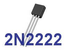 Транзистор 2N2222   NPN   корпус TO-92 (NPN)