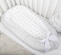 "Гнёздышко - кокон для сна со съёмным чехлом ""Звездный путь"", фото 1"