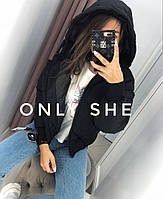 Женская модная зимняя куртка на силиконе, фото 1