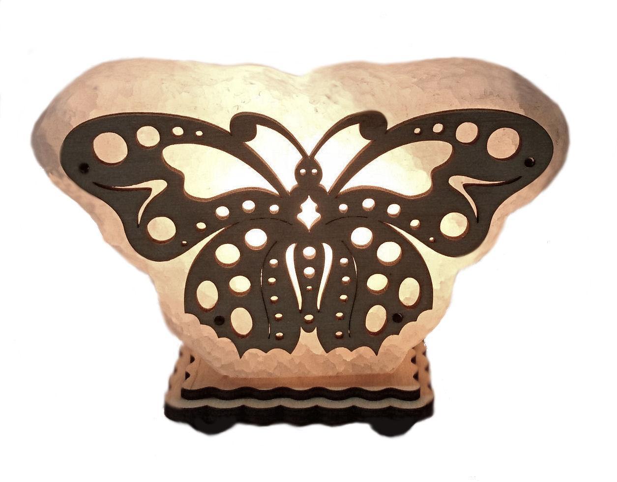 Соляная лампа Бабочка маленькая