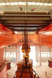 Мостовой кран для электростанций