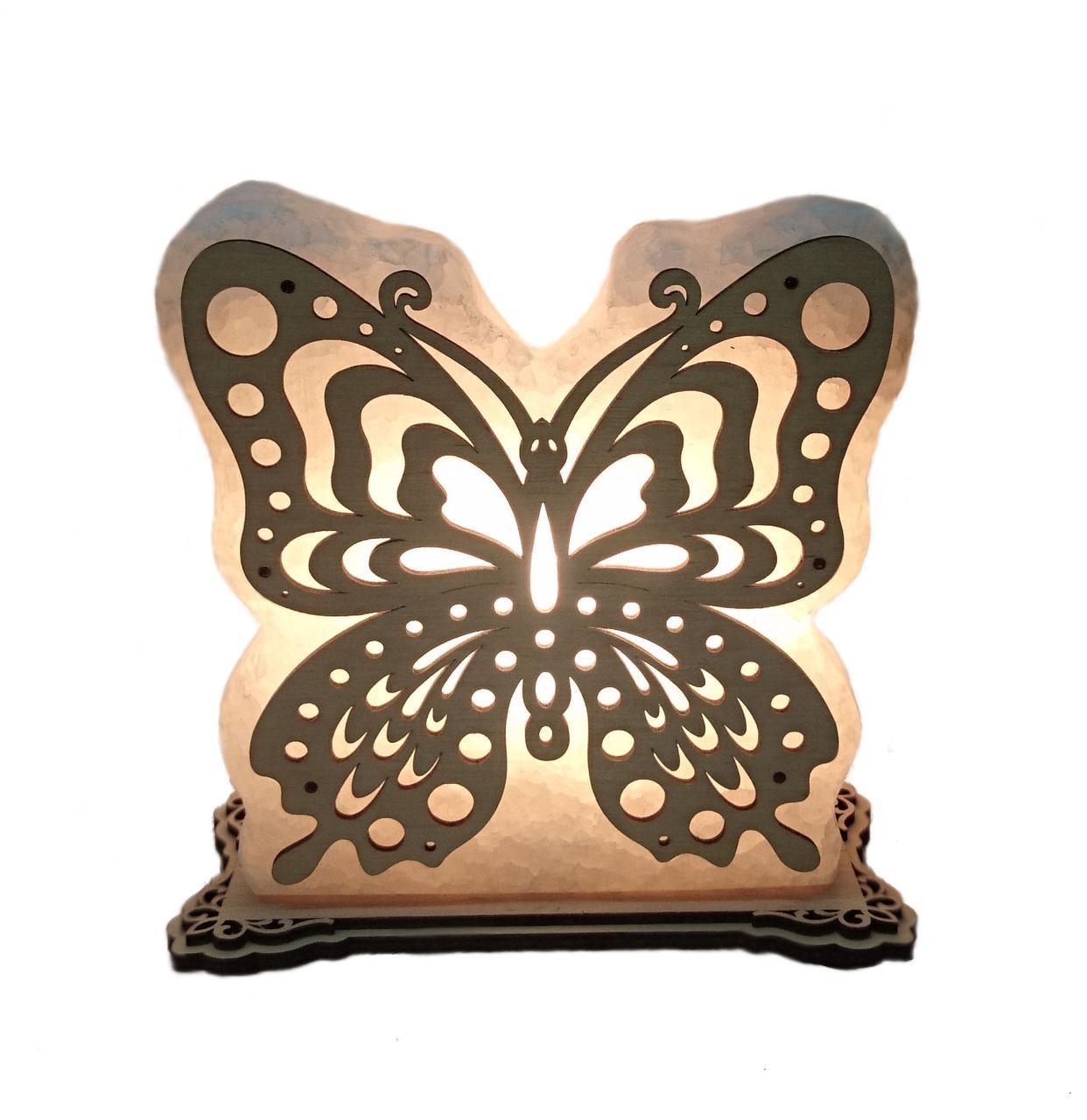 Соляная лампа Бабочка 1