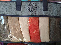 Набор махровых полотенец *Лицо*из 6шт.Размер 90\50 В подрочной упаковке., фото 1