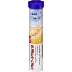 Витамины растворимые в таблетках DM Das Gesunde Plus Multi-Mineral 82г., фото 2