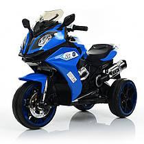 Мотоцикл детскийM 3913-4, синий Гарантия качества Быстрая доставка