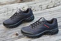 Мужские кроссовки в стиле   черные стильные водоотталкивающие удобные популярные (Код: 1234а), фото 1