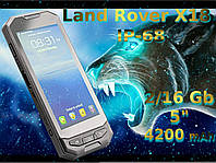 Защищенный Land rover X18 black 2+16GB, фото 1