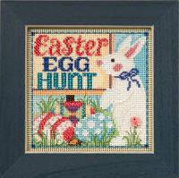 Набор для вышивки Mill Hill Egg Hunt (2015)