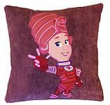 Подушка детская сувенирная с вышивкой пони, фото 7