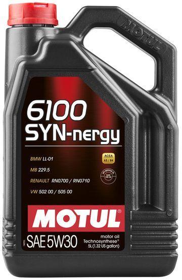 Моторне масло Motul 6100 SYN-NERGY 5W30 5L