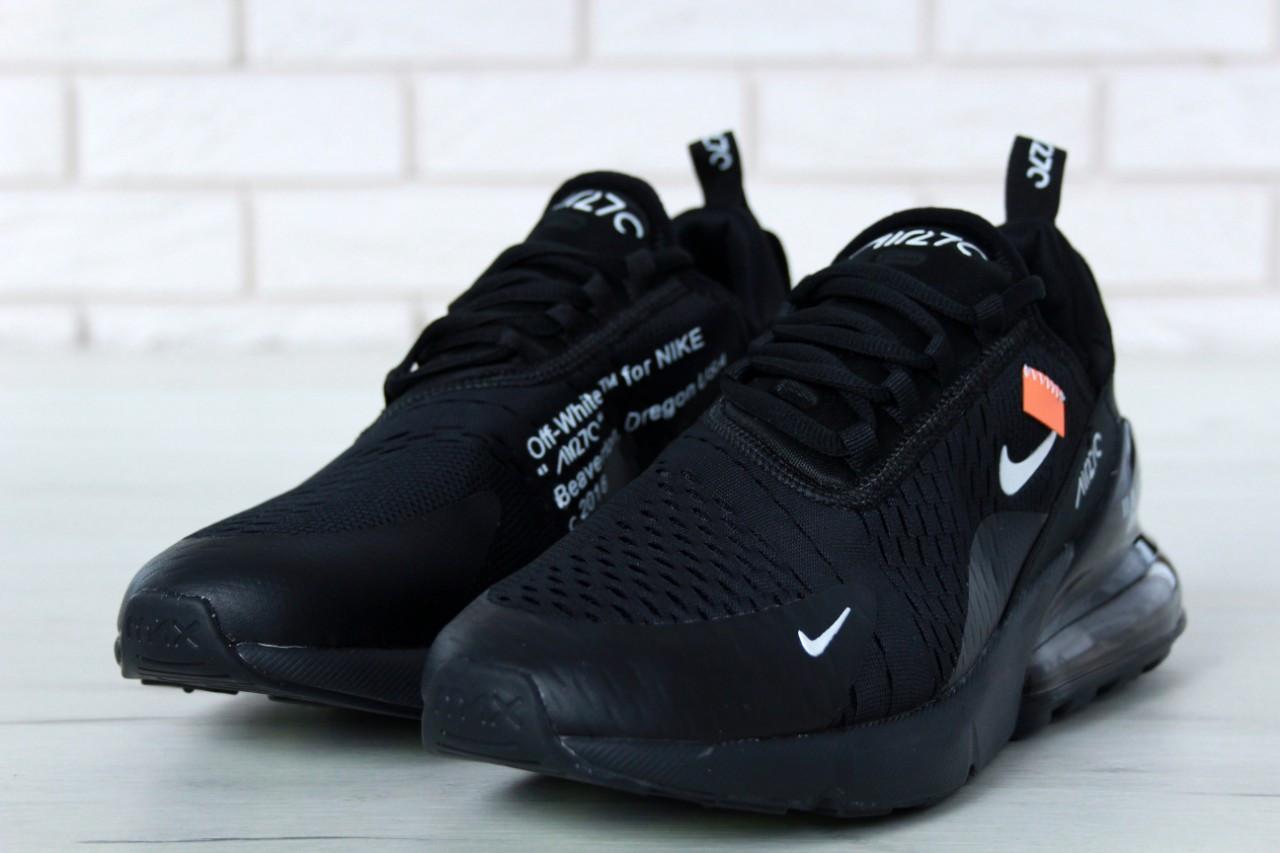 Мужские Кроссовки Nike Air Max 270 Off-White Найк Оф Вайт (реплика ... 91b46fc7460